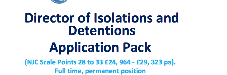 isolation and detention
